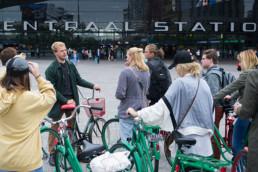 rotterdam centraal station rondleiding fietstour educatie fietsen door rotterdam met gids urbanguides toerisme